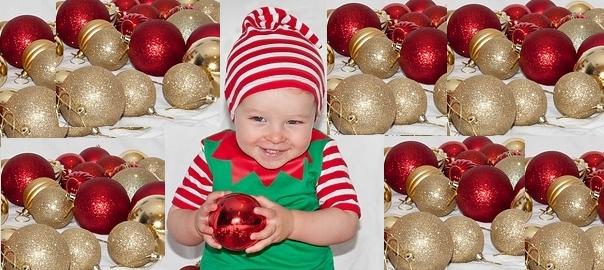 Bavaglino di Natale - shopgogo d7a0da0bb3c2